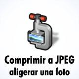 Comprimir fotos a JPEG en línea
